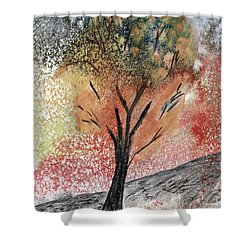 Autumn Tree No. 1 Shower Curtain