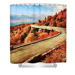 Autumn Views Shower Curtain by Darren Fisher