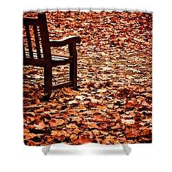 Autumnal Colours Shower Curtain