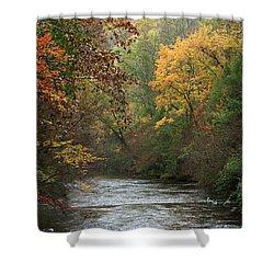 Autumn's Splendor Shower Curtain by TnBackroadsPhotos