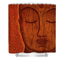 Awakened Mind Shower Curtain