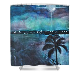 Awakening Shower Curtain by Mickey Krause
