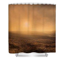 Axe Edge Shower Curtain