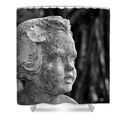 Baby Face Shower Curtain by David Lee Thompson
