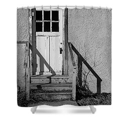 Back Door Shower Curtain