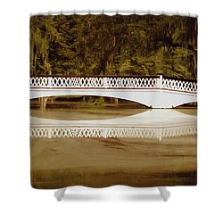 Back In The Day Shower Curtain by DigiArt Diaries by Vicky B Fuller