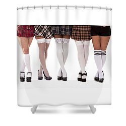 Bad Girls Shower Curtain
