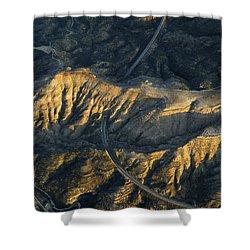 Bad Lands Granada Spain Shower Curtain by Guido Montanes Castillo
