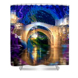 Bad Weather Coming Shower Curtain by Seth Weaver