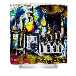 Baghdad  Shower Curtain by David Lee Thompson