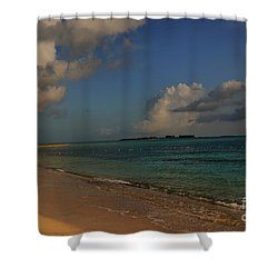 Bahama Ocean View Shower Curtain by Nancie DeMellia