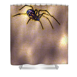 Balancing Act Shower Curtain by Judi Bagwell