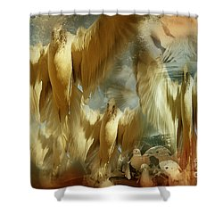 Shower Curtain featuring the photograph Balet by Danica Radman