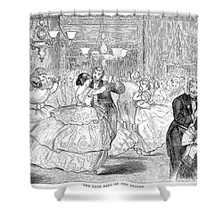 Ball, 1858 Shower Curtain by Granger