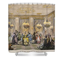 Ball, 18th Century Shower Curtain by Granger