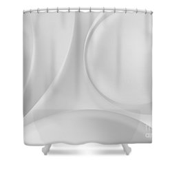 Ball And Curves 08 Shower Curtain by Nailia Schwarz