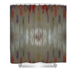 Balloon Whispers Shower Curtain