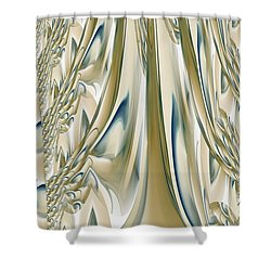 Ballroom Gown Shower Curtain by Maria Urso