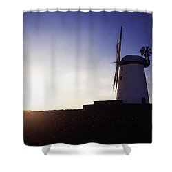 Ballycopeland Windmill, Co. Down Shower Curtain by The Irish Image Collection