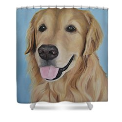 Baltazar Shower Curtain by Jindra Noewi