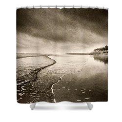 Bamburgh Castle Shower Curtain by Simon Marsden