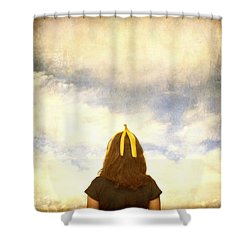 Banana Beauty Shower Curtain