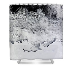 Banzare, Sabrina, And Budd Coasts Shower Curtain by Stocktrek Images