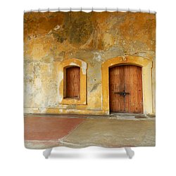 Bar The Doors Shower Curtain