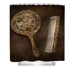 Barber - I'm So Pretty Shower Curtain by Mike Savad