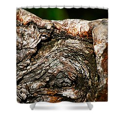 Bark Shower Curtain by Christopher Gaston