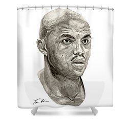 Barkley Shower Curtain by Tamir Barkan