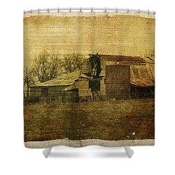 Barn 3 Shower Curtain by Toni Hopper