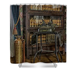 Barrister's Home Office Shower Curtain by Lynn Palmer