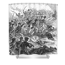 Battle Of Cerro Gordo Shower Curtain by Granger