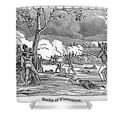 Battle Of Tippecanoe Shower Curtain by Granger
