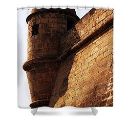 Battlement Shower Curtain