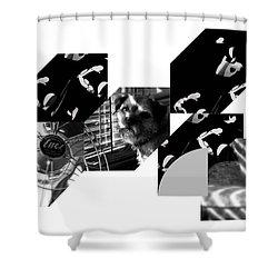 Bauhaus Ballet Toto Shower Curtain by Charles Stuart