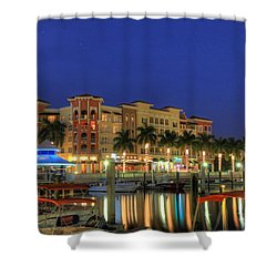 Bayfront 2 Shower Curtain by Sean Allen