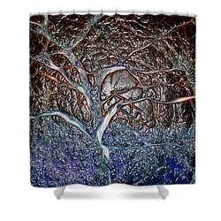 Bb's Tree 3 Shower Curtain