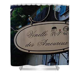 Shower Curtain featuring the photograph Be My Valentine by Dany Lison