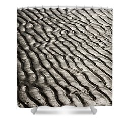 Shower Curtain featuring the photograph Beach Sands by Fotosas Photography