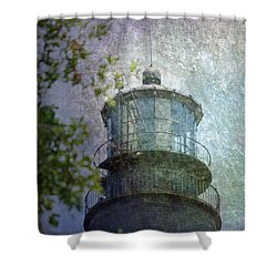 Beacon Of Hope Shower Curtain by Judy Hall-Folde