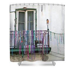 Bead The Porch Shower Curtain