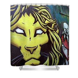 Beasts Of Burden Shower Curtain by Bob Christopher