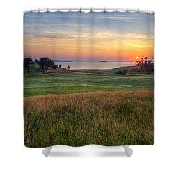 Beautiful Game Shower Curtain