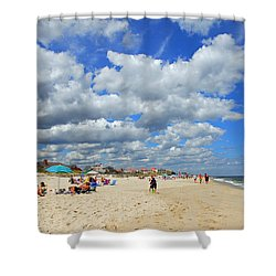 Beautiful Jersey Shore Shower Curtain
