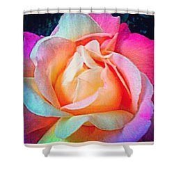 Beautiful Rose From My Gardens #flowers Shower Curtain