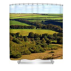 Beautiful Somerset Shower Curtain by Carla Parris