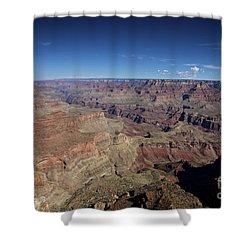 Beautiful Vista At Powell Point, Grand Shower Curtain by Terry Moore