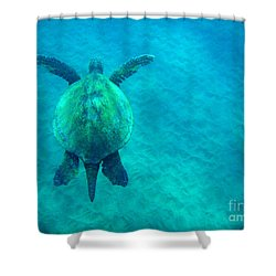Beauty Of The Sea Shower Curtain by Bob Christopher